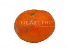 Reife Mandarine – freigestellt - Nature Art Photos by Damian Konietzny